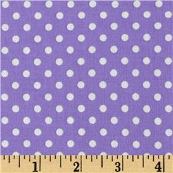 Aunt Grace Dots Purple