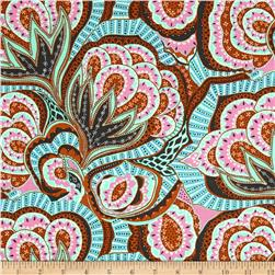 Amy Butler Hapi Heart Oasis River Fabric
