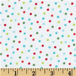 Robert Kaufman Remix Scattered Small Dots Holiday