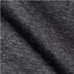 1x1 Rib Knit Solid Light Gray