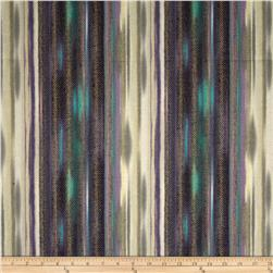 Fortissimo Metallic Fortissimo Stripe Peacock Fabric
