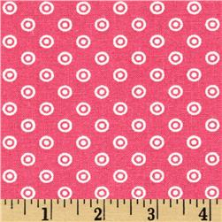 Dots and More Dots Pink Fabric