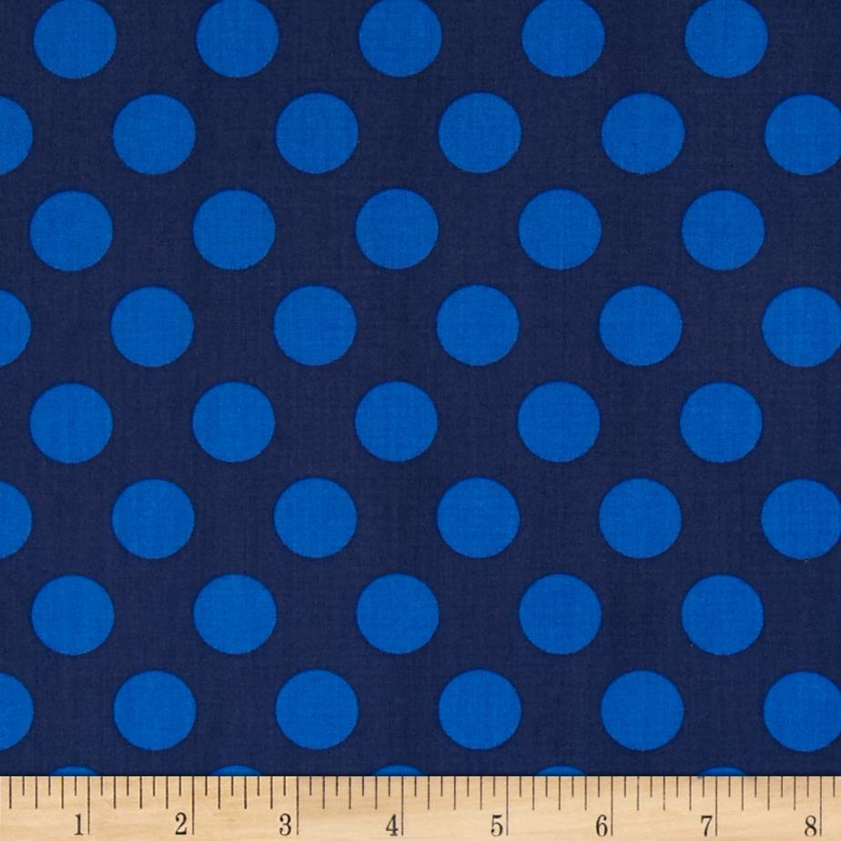 Singin' the Blues Jumbo Dots Navy/Royal