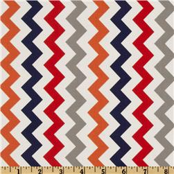 Riley Blake Chevron Small Red/Boy Fabric