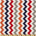 Riley Blake Chevron Small Red/Boy