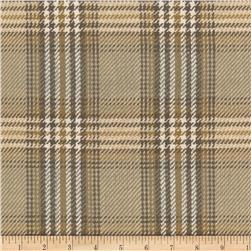 Laura & Kiran Cheshire Plaid Putty Browns