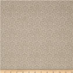 Gentle Gardens Monotone Damask Taupe