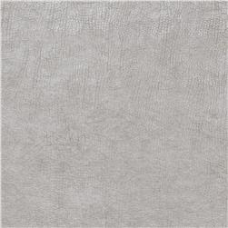 Fabricut 03344 Metallic Faux Leather Sterling