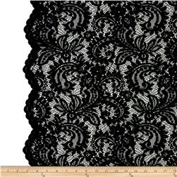 Amelia Stretch Lace Black