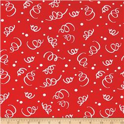 "110"" Wide Quilt Back Fiesta Red"