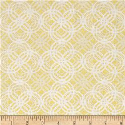 Hot Topic Concentric Tonal Circle Yellow