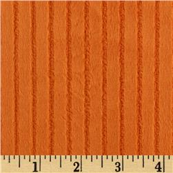 Minky Ribbon Cuddle Orange Fabric
