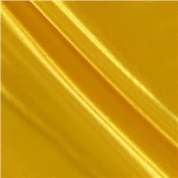 Poly Charmeuse Satin Yellow
