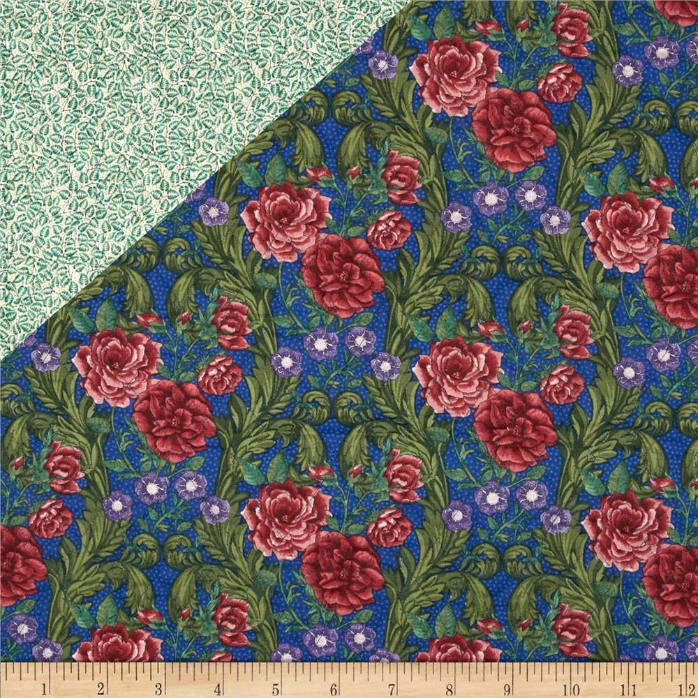 Bella Double Sided Quilted Roses Multi