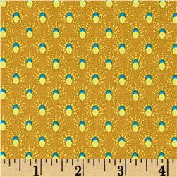 Meadow Storm Sun Shower Dots Tan