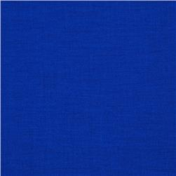 Designer Essentials Solid Broadcloth Cobalt Fabric