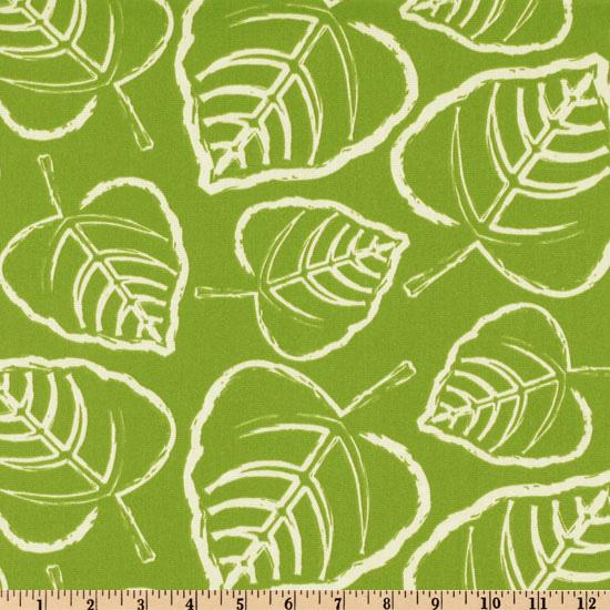 Premier Prints Indoor/Outdoor Leaf Greenage