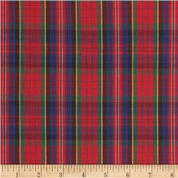 Tartan Plaid Red/Blue/Green