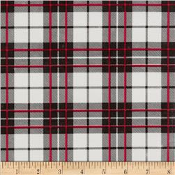 Oil Cloth Glen Plaid Black