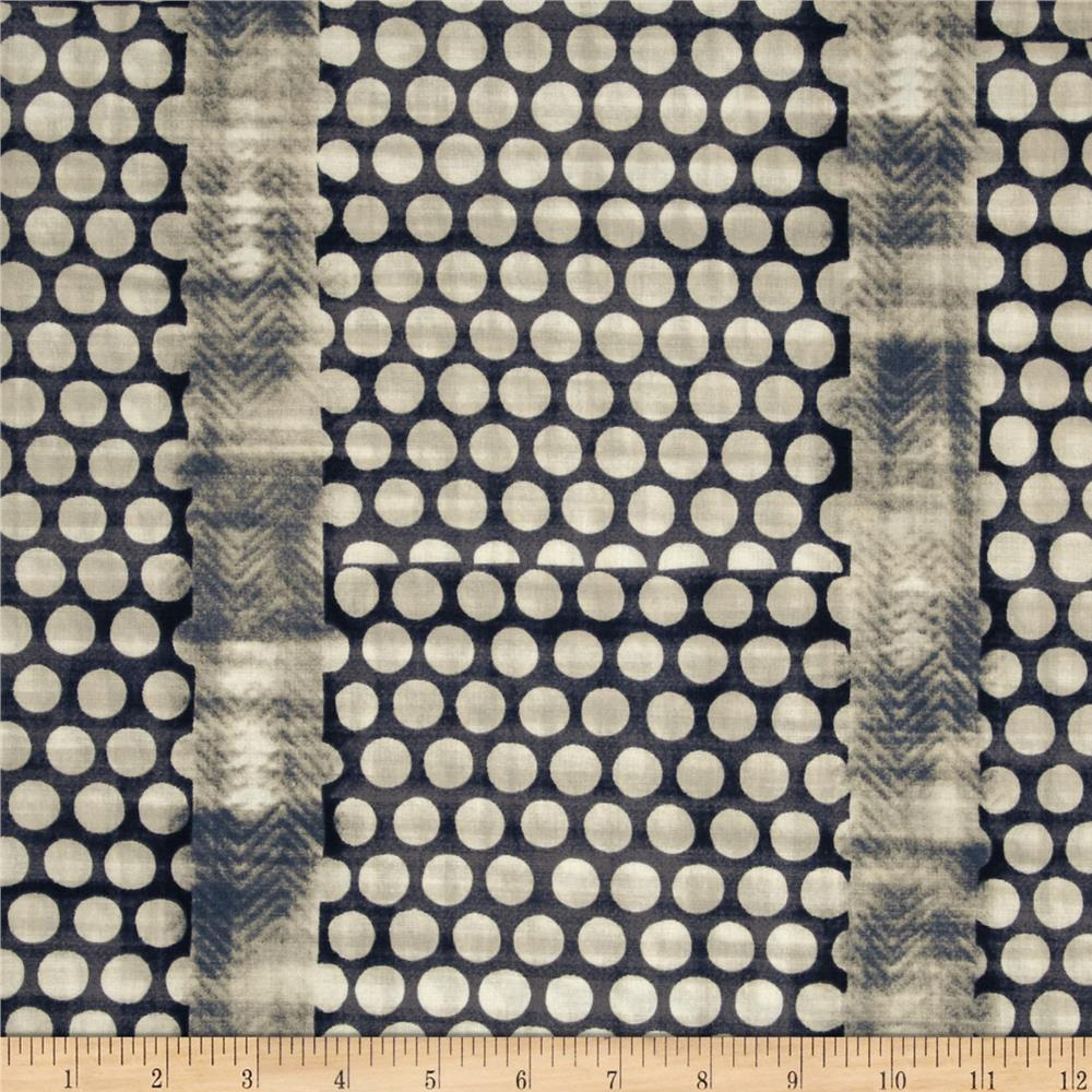 Studio Stash Circle Stripe Indigo