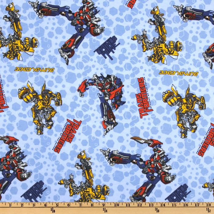 Transformers Flannel Optimus Prime Blue