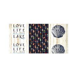 Richloom Solarium Outdoor Lake Life Navy