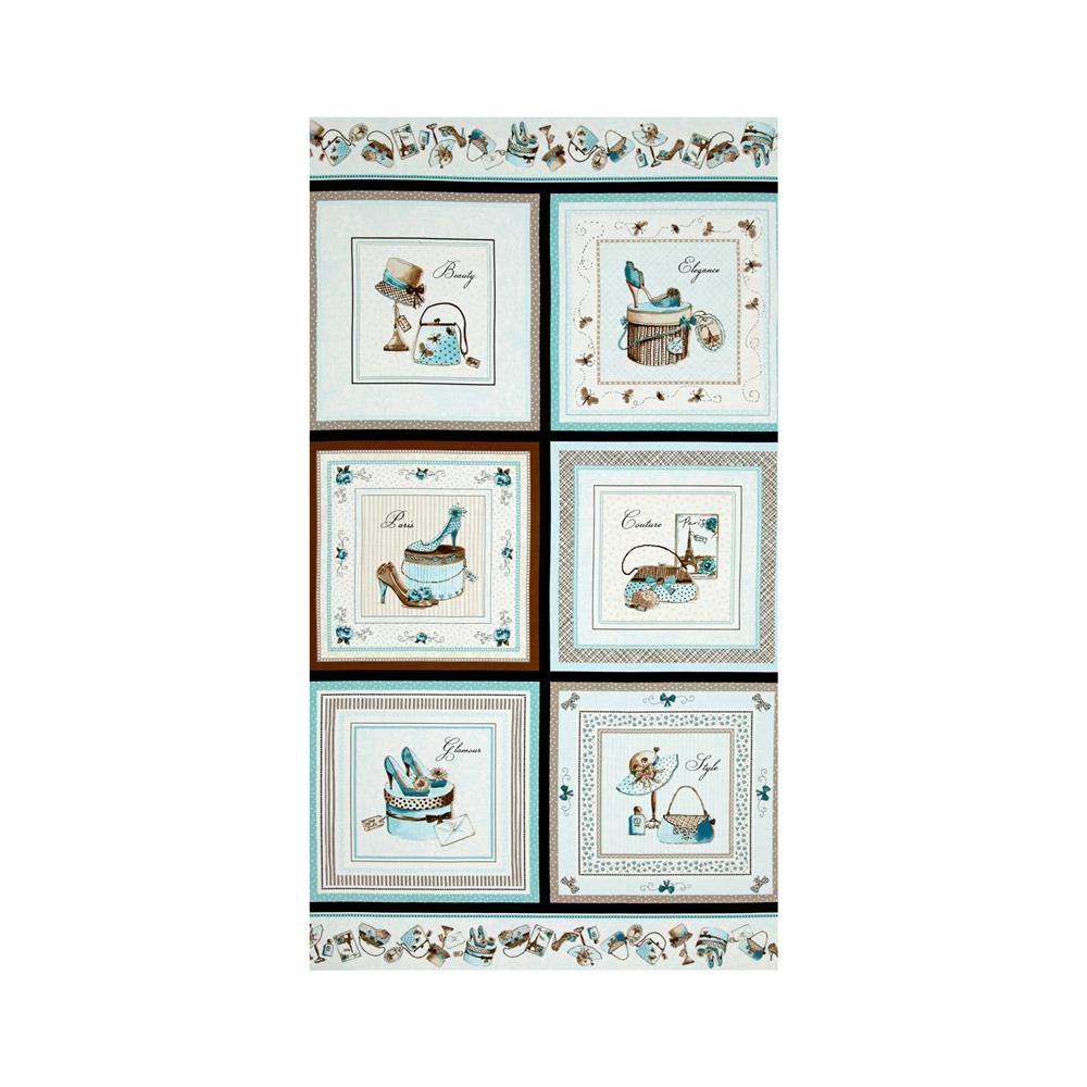 "Glamour, Inc. Glamour Box 23"" Panel Aqua"