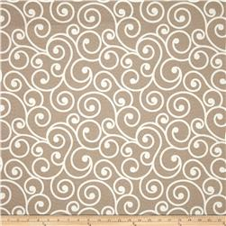 Tempo Indoor/Outdoor Scrolls Linen