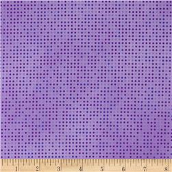 Mixmasters Dot-to-Dot Wisteria Fabric
