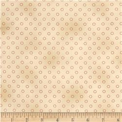 Jeanne Horton The Settlement Collection Circle Shirting Red