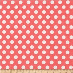 Michael Miller Kiss Dot Shell Fabric