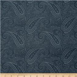 Moda Snowberry Paisley Midnight
