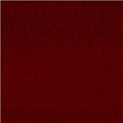Luxury Wool Cashmere Melton Red