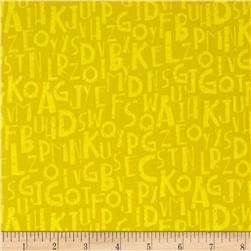 Logos Alphabet Yellow