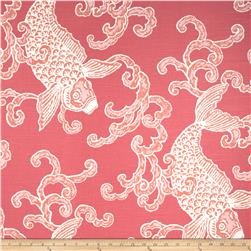 Home Accents Pisces Slub Flamingo Fabric