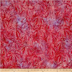 Kaufman Artisan Batiks Tiger Fish Bubble Spray Fuchsia