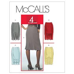 McCall's Misses'/Miss Petite Skirts Pattern M5523 Size AX5