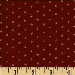 Moda Floral Gatherings Straw Flower Crimson