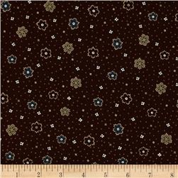 Scrap Happy Floral Brown
