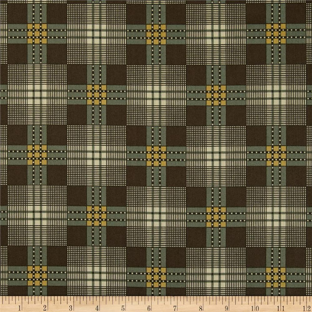 Jo Morton Charleston Plaid Teal