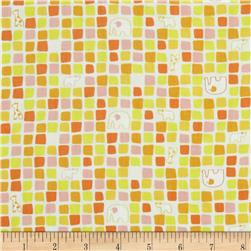 Savanna Bop Animal Squares Yellow/Orange