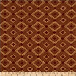Robert Allen Promo Diamond Effect Jacquard Russet Fabric