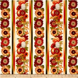 Harvest Gathering Harvest Stripe Cream
