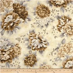 Imperial Collection Metallics Large Flower Antique