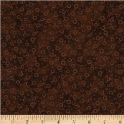Mixed Medley Geo Circles Brown