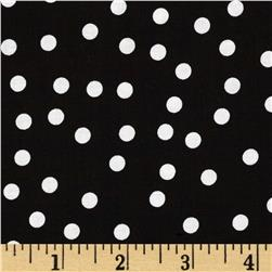 Riley Blake Parisian Dot Black