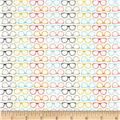 Riley Blake Designer Novelty Glasses Multi