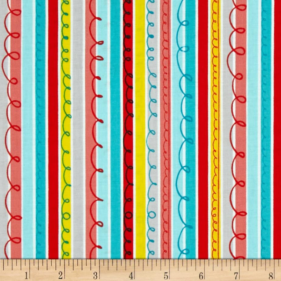 Animal ABC's Stripe Multi