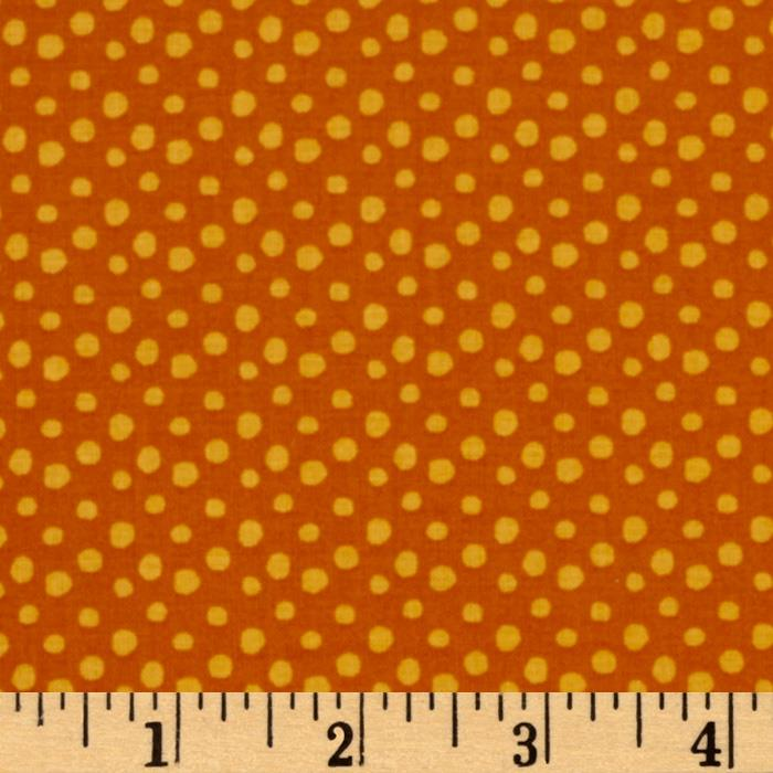 Festive Forest Dots Orange