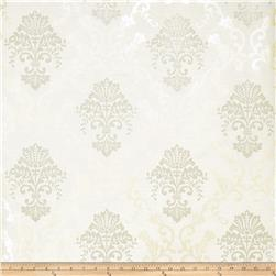 Fabricut Grace Wallpaper Champagne (Double Roll)